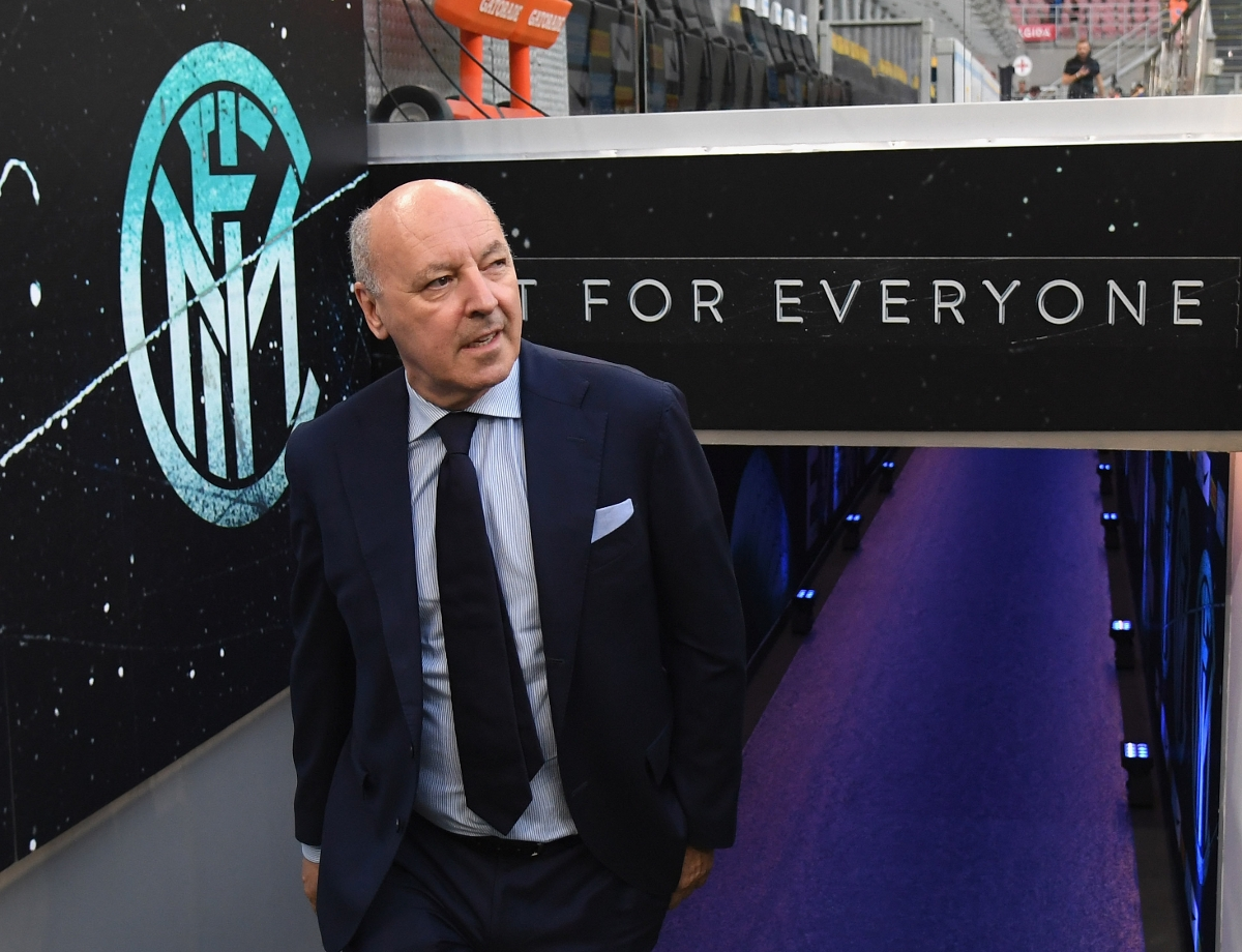 "Marotta: ""The side has character, improvement is our main goal """