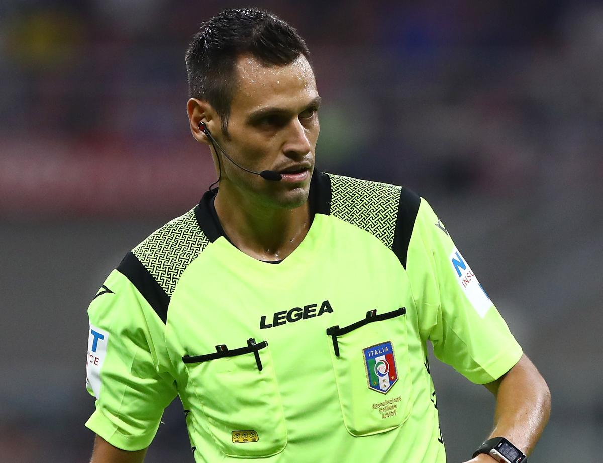 Mariani assigned as the referee for Fiorentina vs. Inter