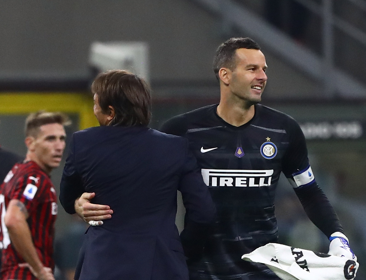 "Handanovic: ""A great game, we deserved to win"""