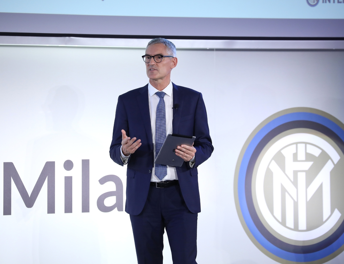 """Antonello: """"We have started a project to share important information about the new stadium"""""""