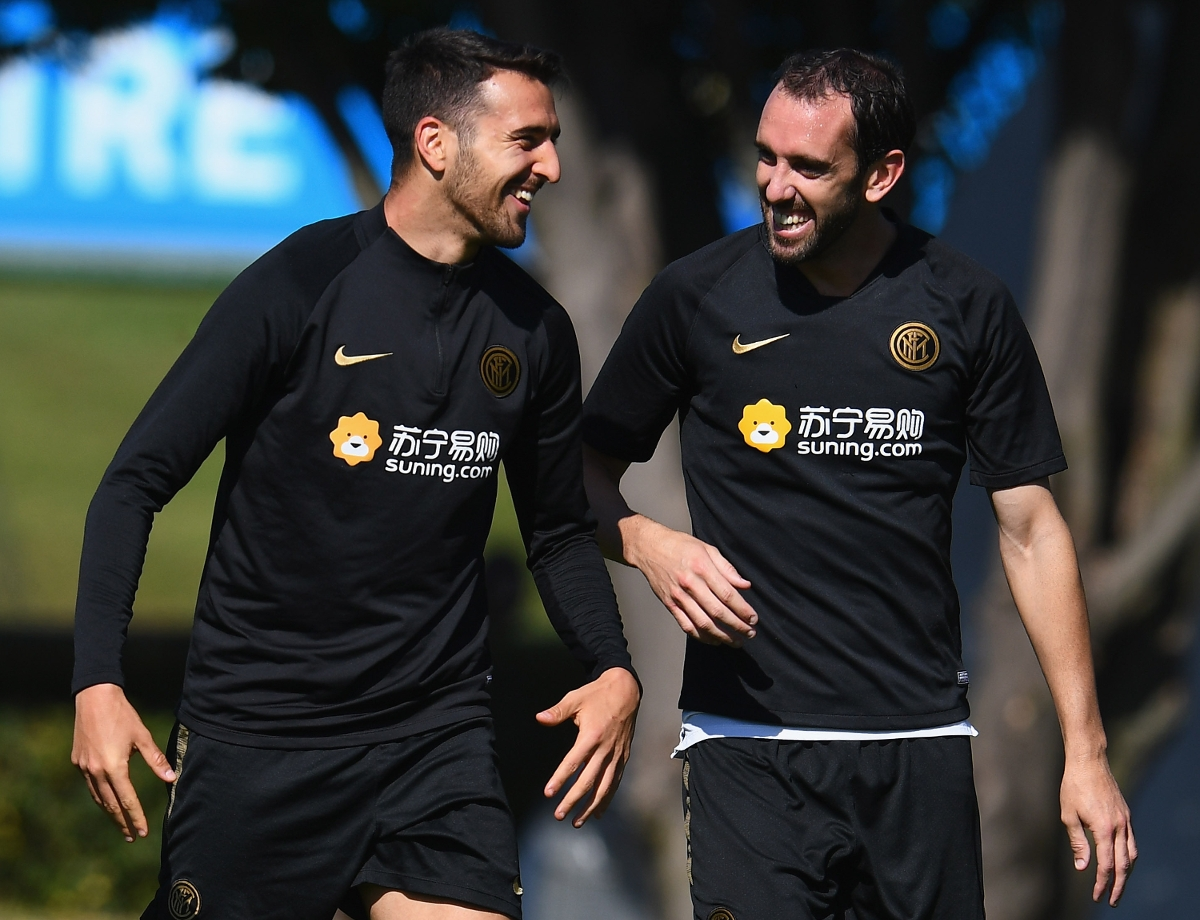 Inter-Nationals, Vecino and Godin both get 90 minutes for Uruguay