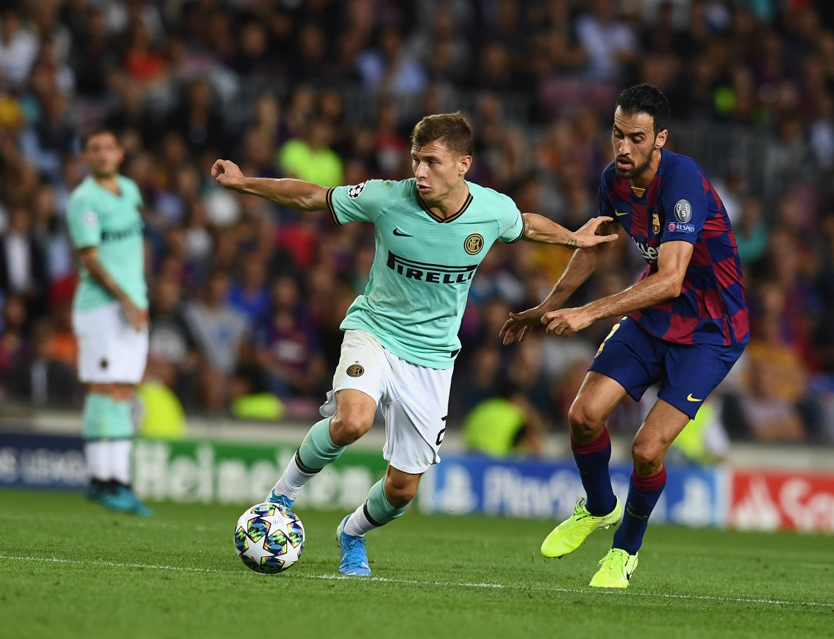 Image result for nicolo barella vs barcelona
