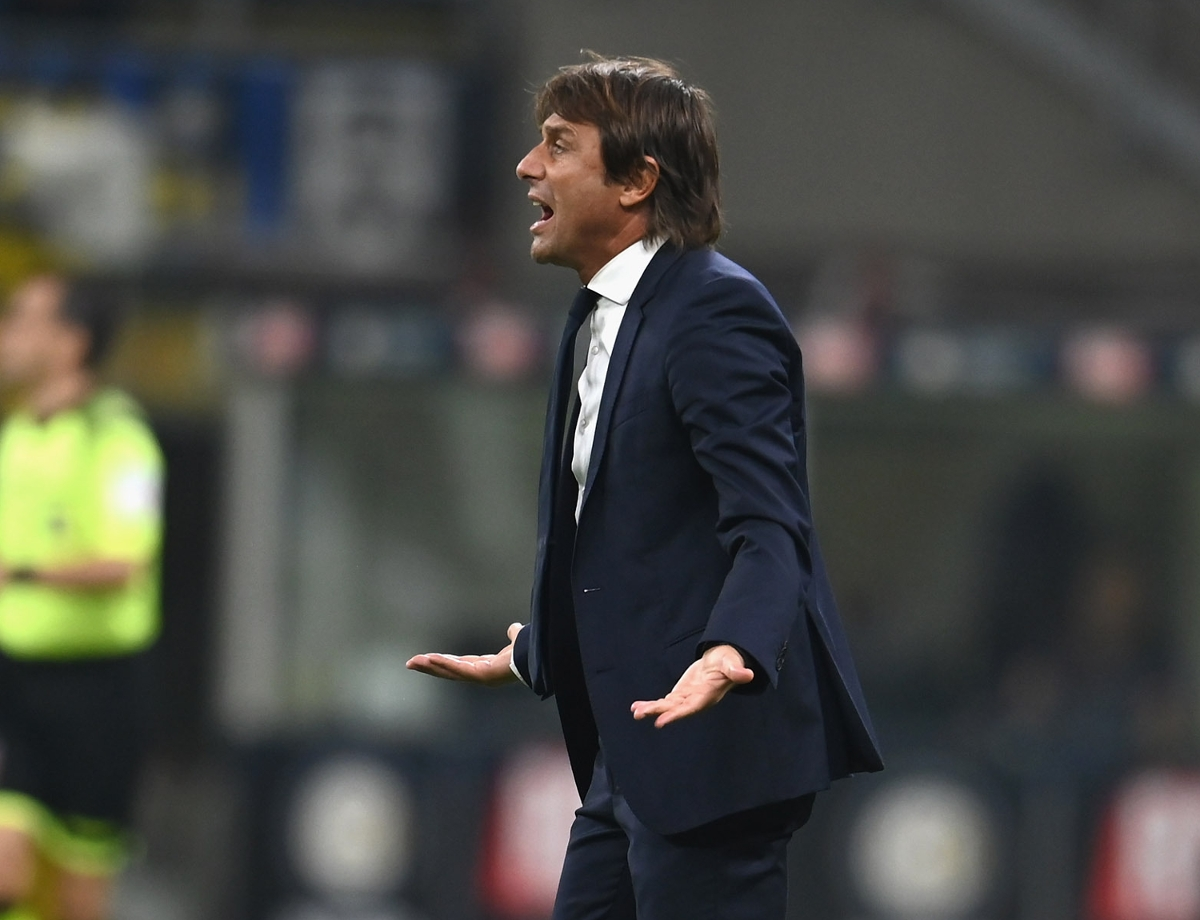 """Conte: """"Their experience counted, we're just at the start of our journey"""""""