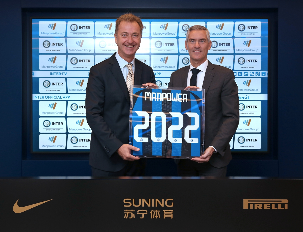 ManpowerGroup is confirmed as the Premium Partner of FC Internazionale Milano until 2022