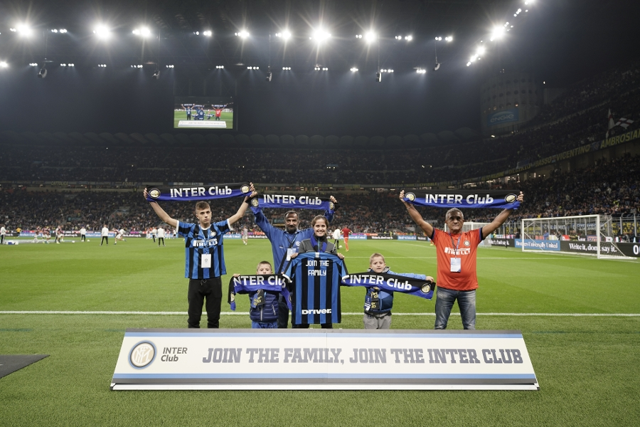 Inter Clubs take to the Meazza turf