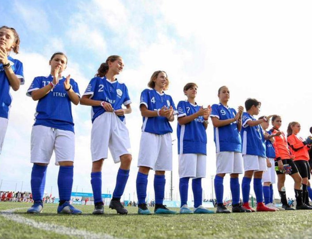 Inter win silver at the Danone Nations Cup