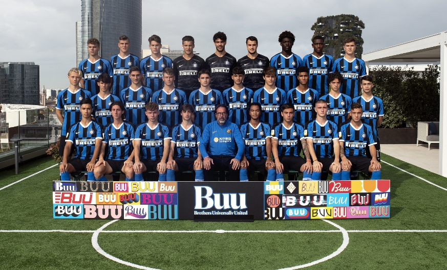Inter Primavera, official team photo for the 2019-2020 season