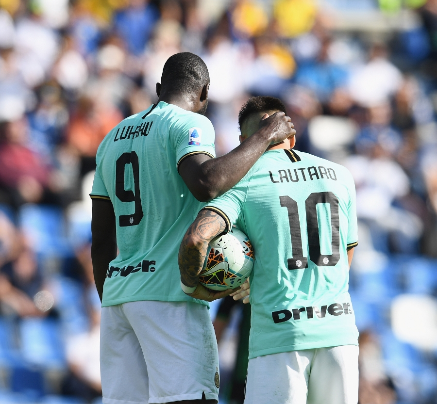 The gallery from the win at Sassuolo