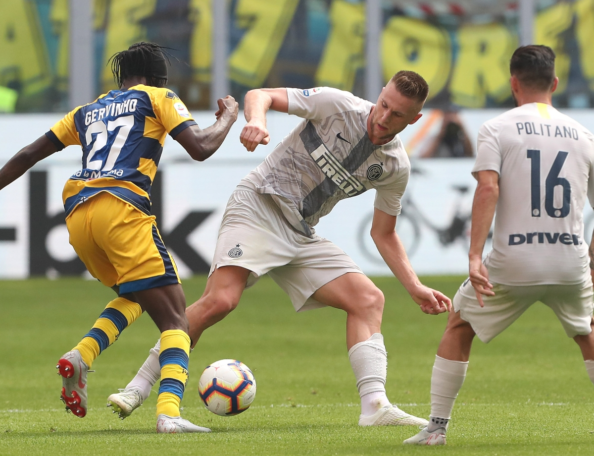 Building up to Inter vs. Parma, the facts and statistics