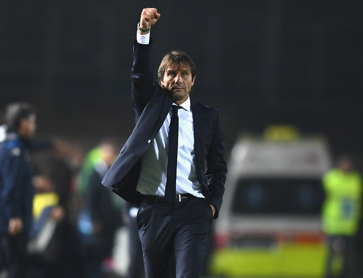 "Conte: ""I can only thank the lads, they were extraordinary"""