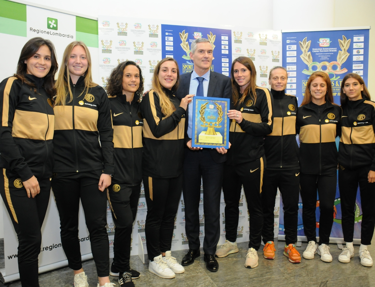 """#InterWomen: a special prize for """"Our Girls"""", a film of the 2018/19 season"""