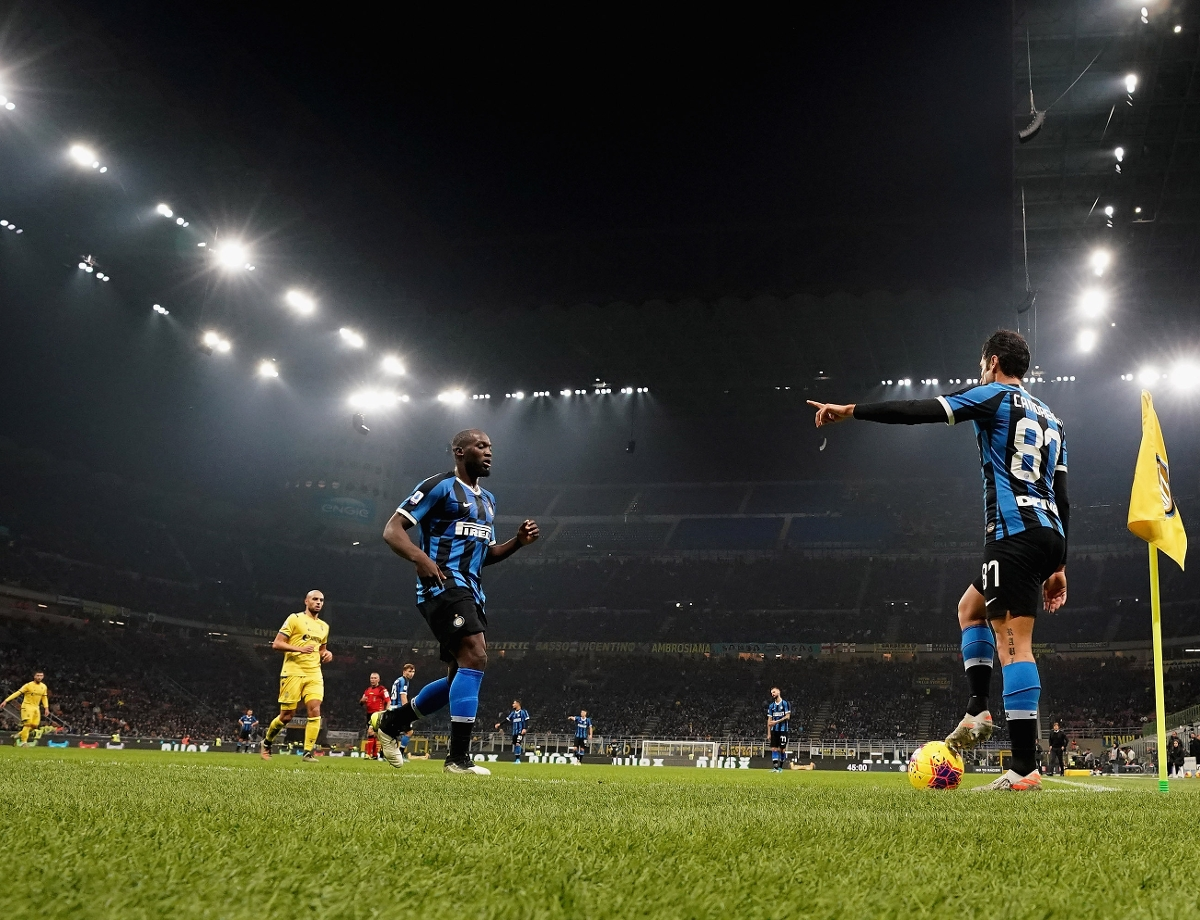 All of Inter's matches from November up to Christmas