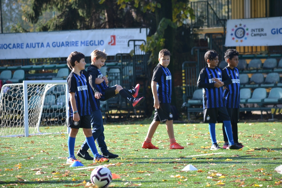 Inter Campus Italia, so much desire to play!