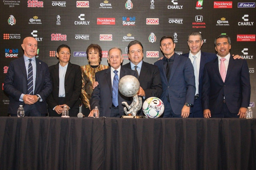 Javier Zanetti awarded a place in the Salón de la Fama in Pachuca