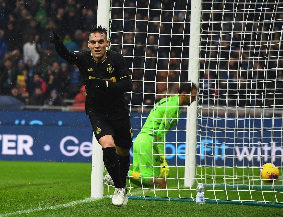 Inter 2-1 SPAL: Lautaro Martinez's brace sends Inter top of Serie A