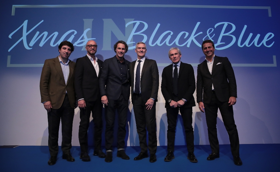 Xmas IN Black&Blue, an evening dedicated to our Hospitality clients