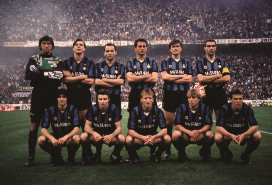 "The history of Inter vs. Roma - Walter Zenga and the UEFA Cup in '91: ""What a team!"""