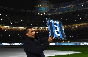 A great reception for Ivan Cordoba upon return to San Siro