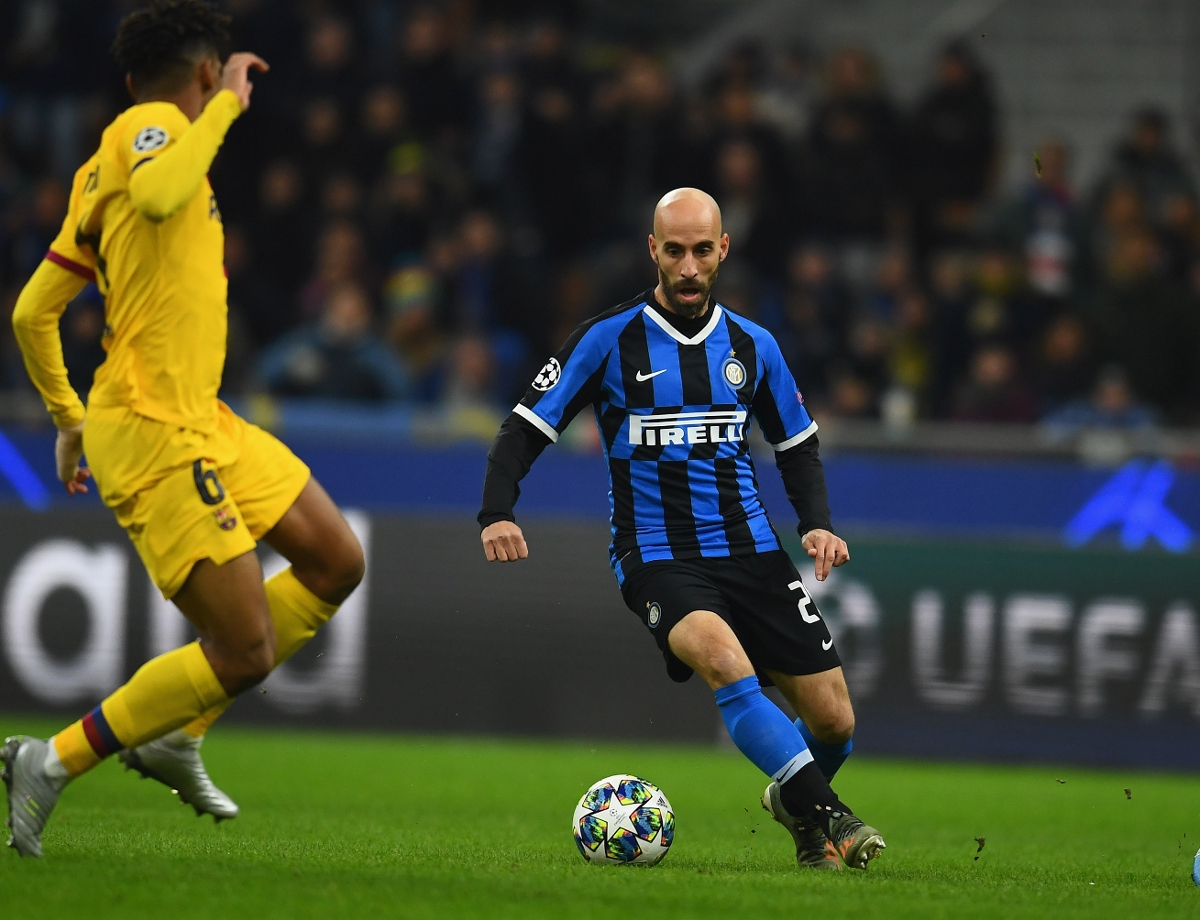 """UCL, Borja Valero: """"Thank you to the fans at San Siro, they were exceptional"""""""