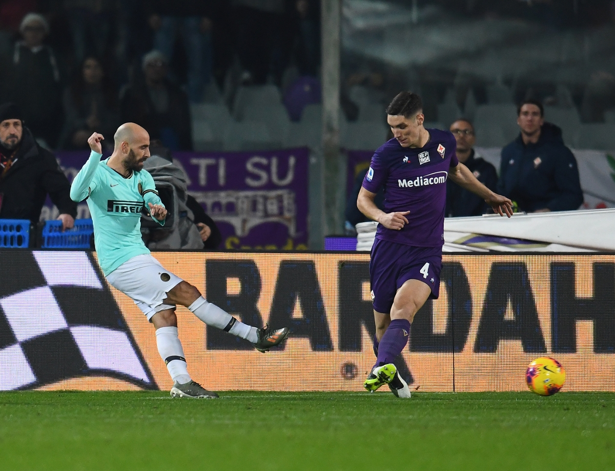 Vlahovic pegs Inter back in the 92nd minute, 1-1 at Fiorentina