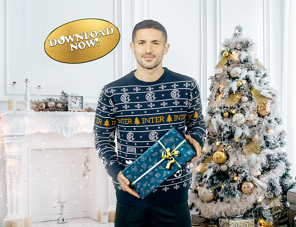 Download your very own Nerazzurri wrapping paper!