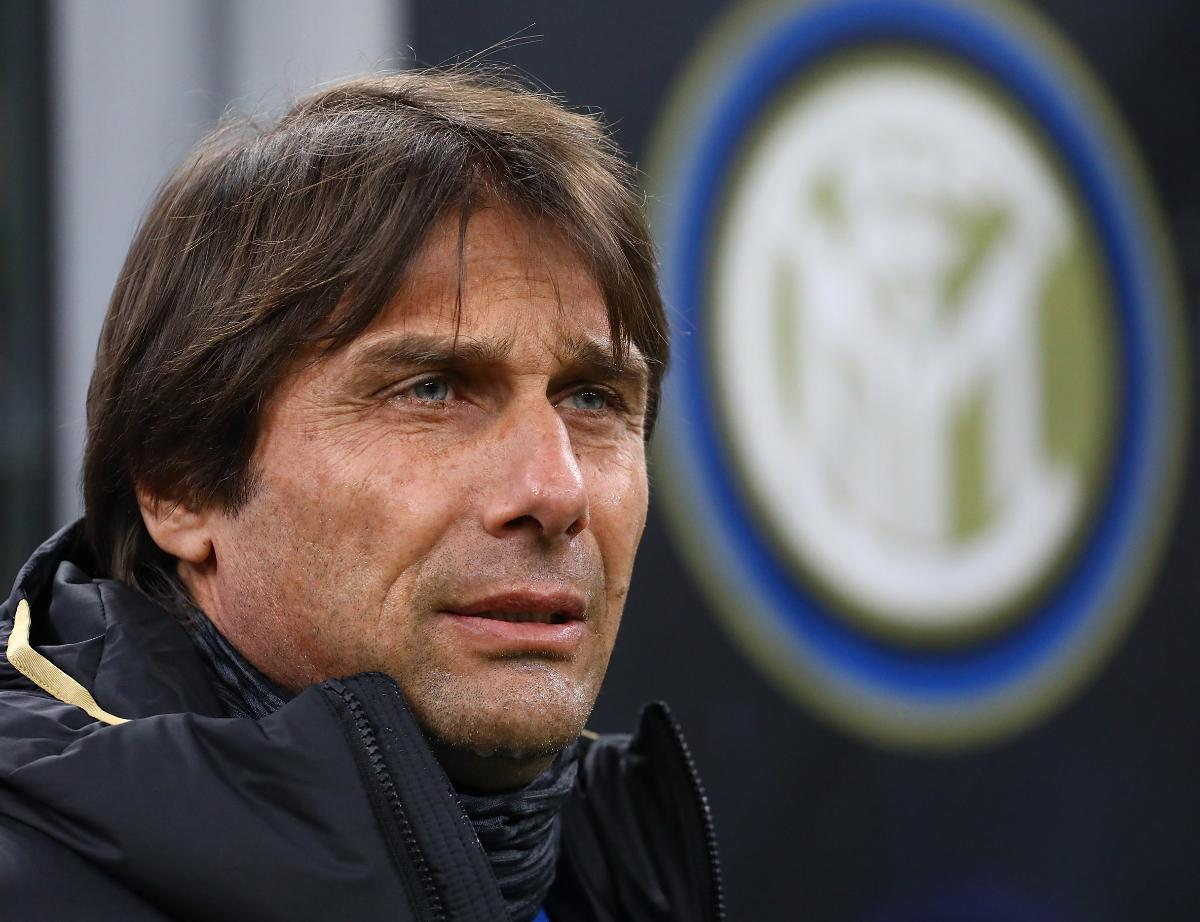 """Conte: """"The boys ought to be praised. We're up there despite the difficulties"""""""