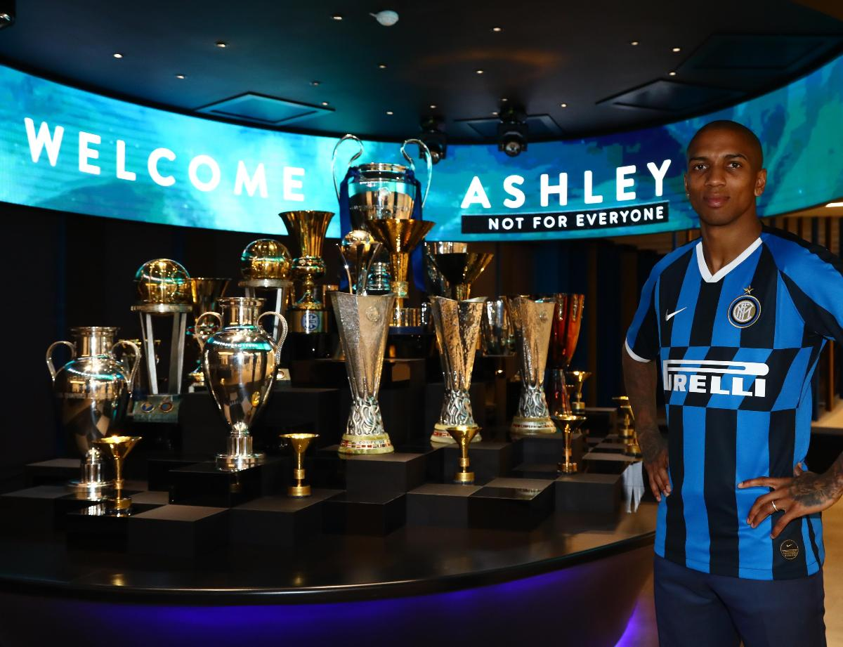 Ashley Young is a new Inter player