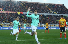 """Bastoni: """"An incredible feeling to score, but this was about winning"""""""