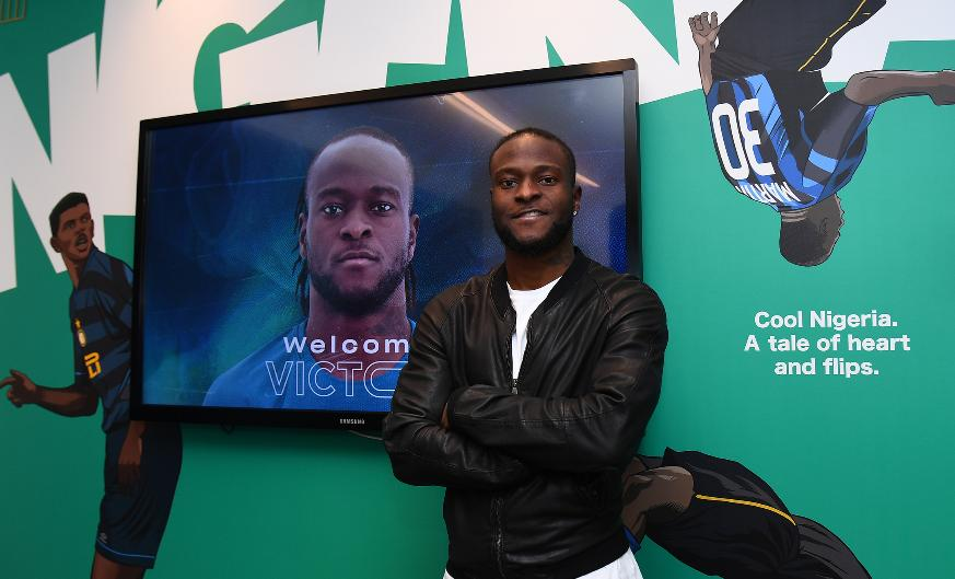 Victor Moses' shirt number