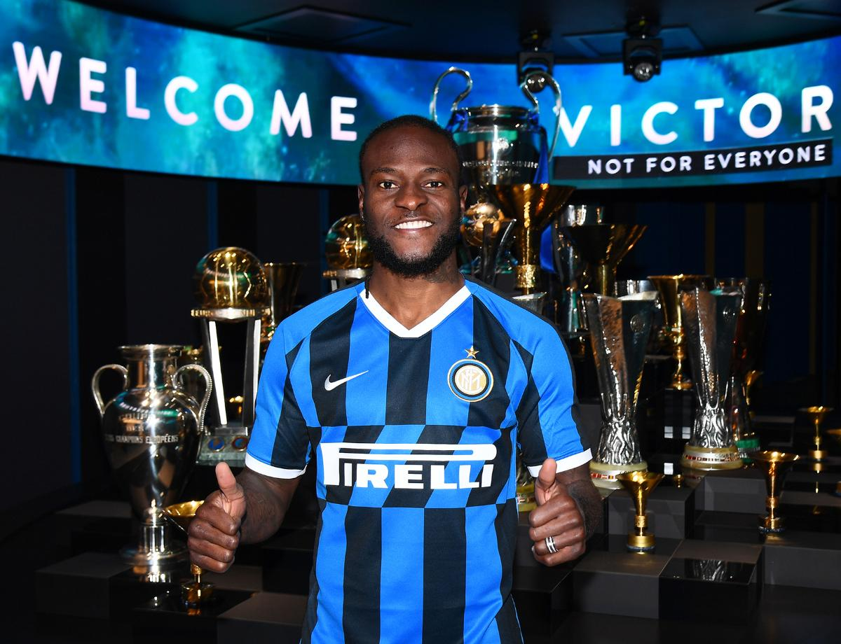 TRANSFER MARKET | It's official: Victor Moses joins the Nerazzurri!