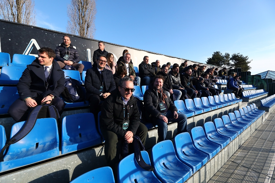 Appiano Sponsor Day at the Suning Training Centre