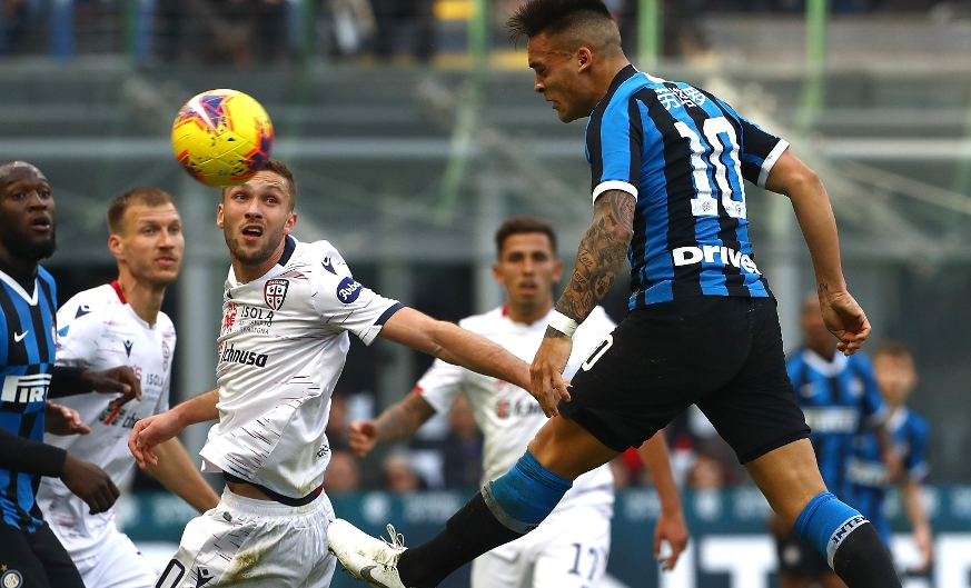 Inter slip up again in a 1-1 draw with Cagliari at San Siro