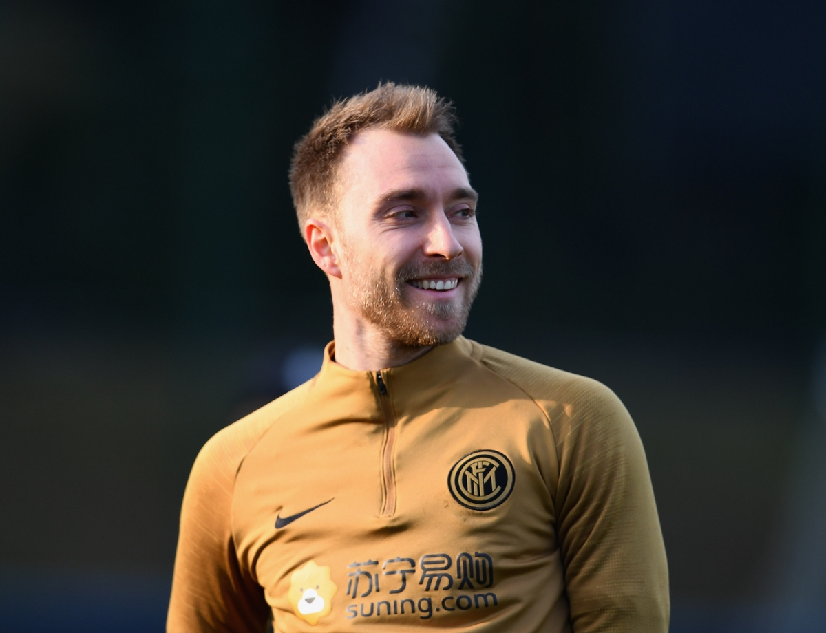 """Eriksen: """"I wanted a new challenge, I'm pleased to be here"""""""