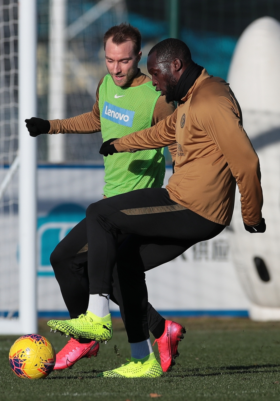 Two sessions for the Nerazzurri today
