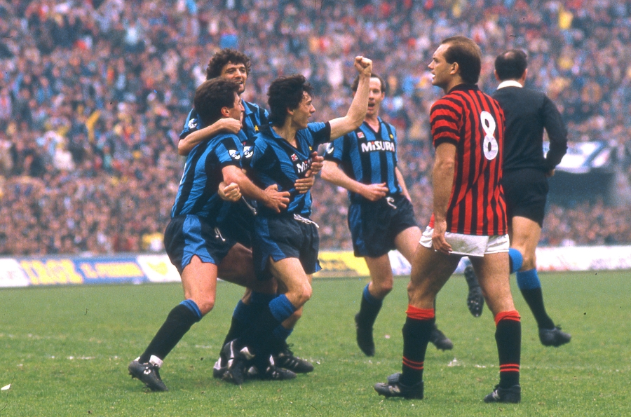 The history of the #DerbyMilano, 5 tales from the past