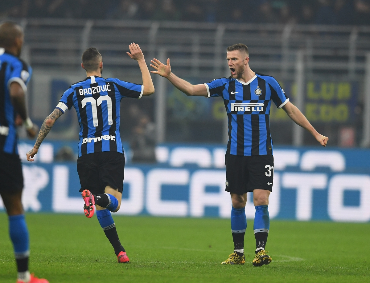 Milano is Black&Blue! The facts and figures following Inter's Derby success