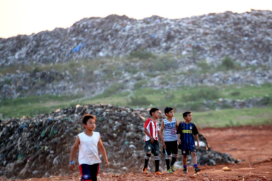 Sustainable entertainment at the Asunción landfill site