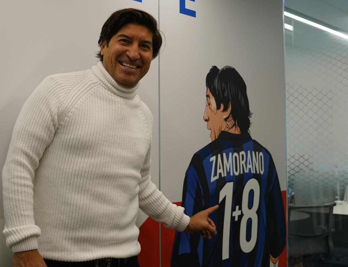"""Zamorano: """"People like this Inter side because it has heart and character"""""""