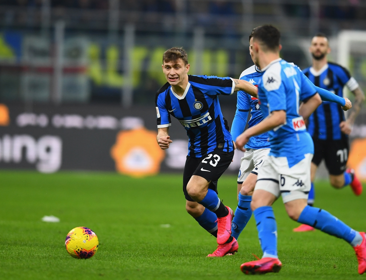 "Barella: ""We weren't on the ball today but we want to return to full steam right away"""