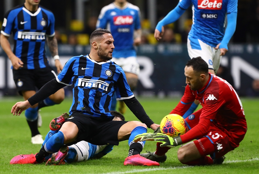 Inter-Napoli 0-1, la gallery del match del Meazza