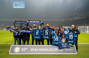 Inter Club, a special awards ceremony at the #DerbyMilano