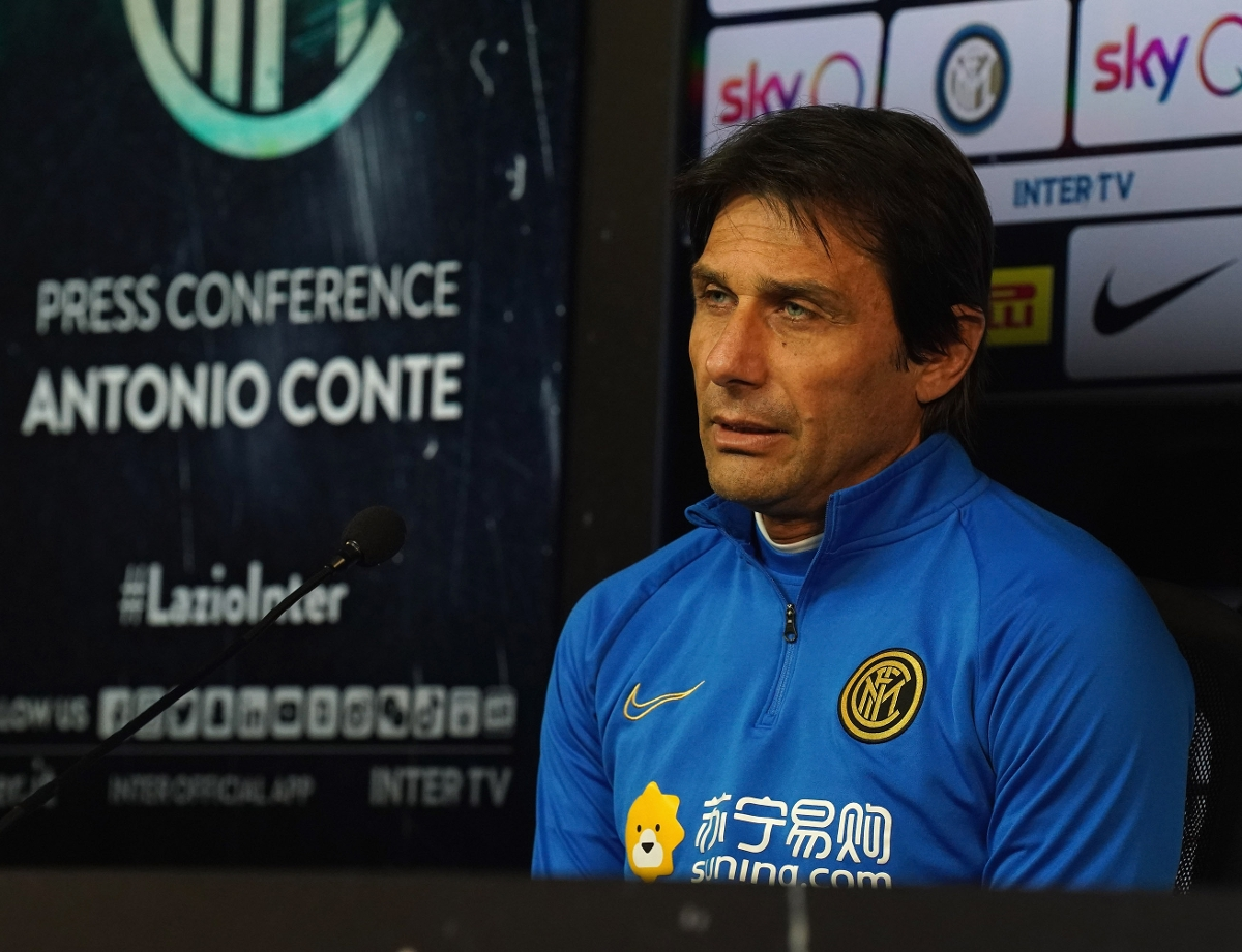 """Conte: """"A tough match against Lazio, between two teams who want to outdo one another"""""""