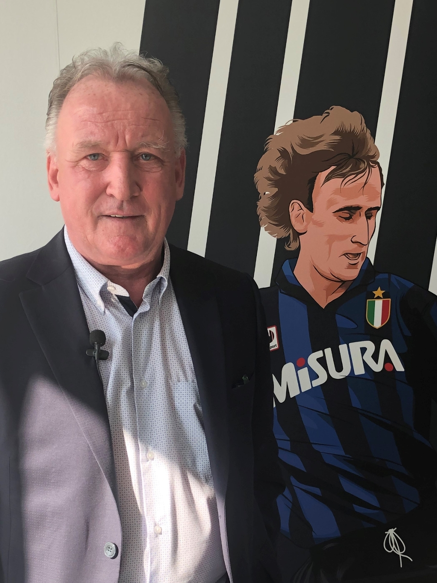 """Brehme: """"I'm happy to be here, I always follow Inter."""""""