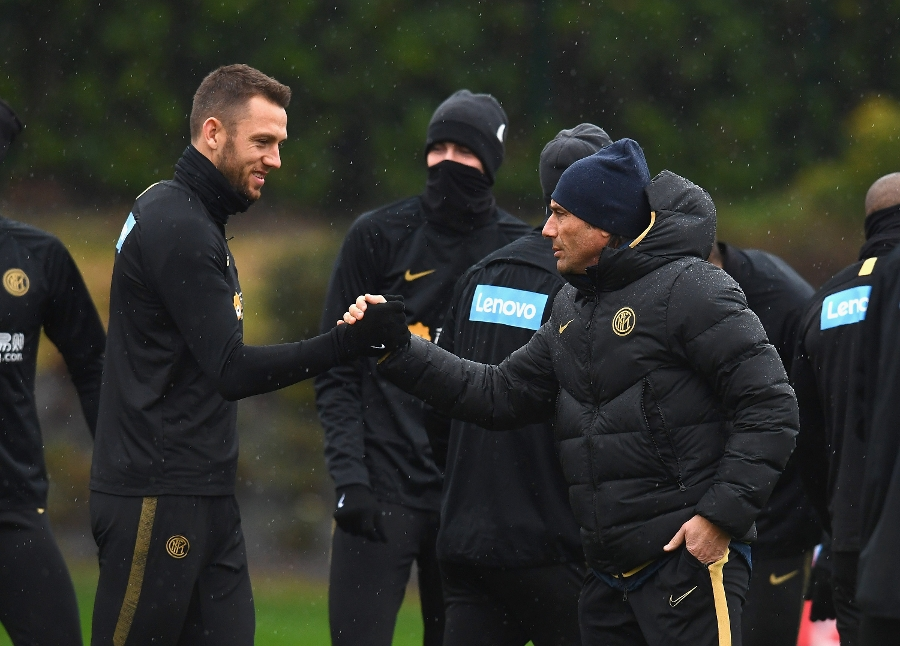 The Nerazzurri hard at work: the photos from training