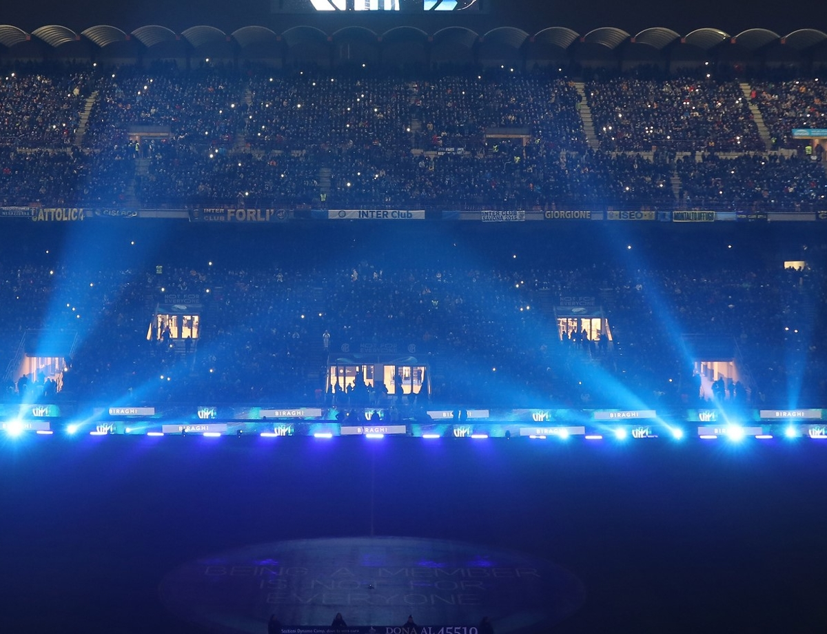Inter and AC Milan set for a state-of-the-art LED system
