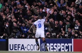 10 years ago...Chelsea vs. Inter and that goal from Eto'o