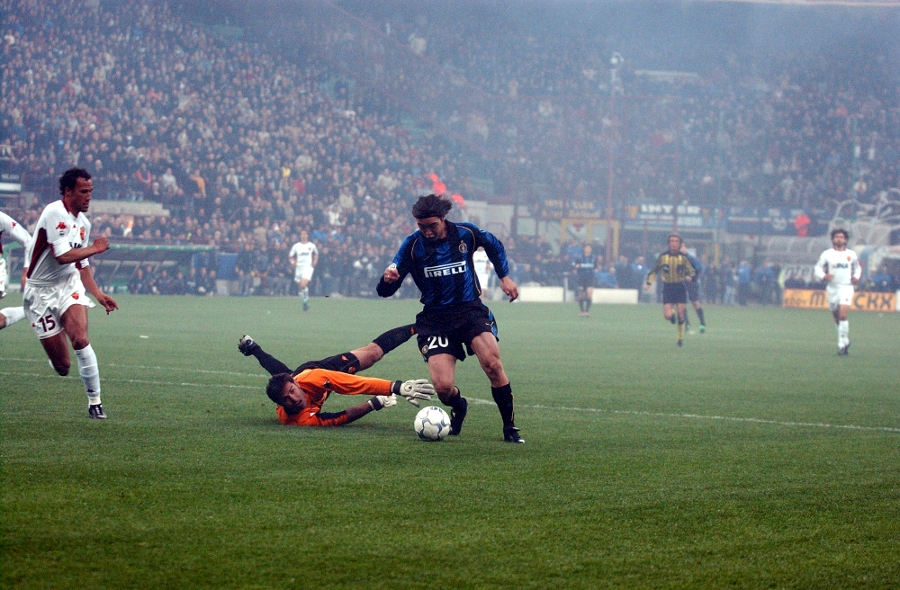 Guess the team: Inter 3-1 Roma tanggal 24 Maret 2002