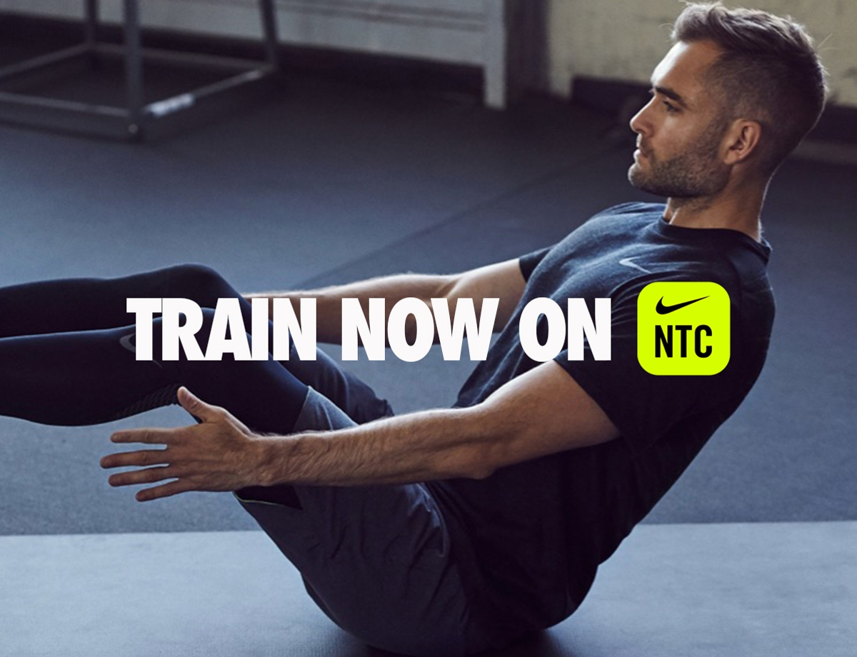 Train at home with Nike
