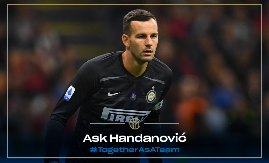 Ask Handanovic! Your questions for our Nerazzurri goalkeeper
