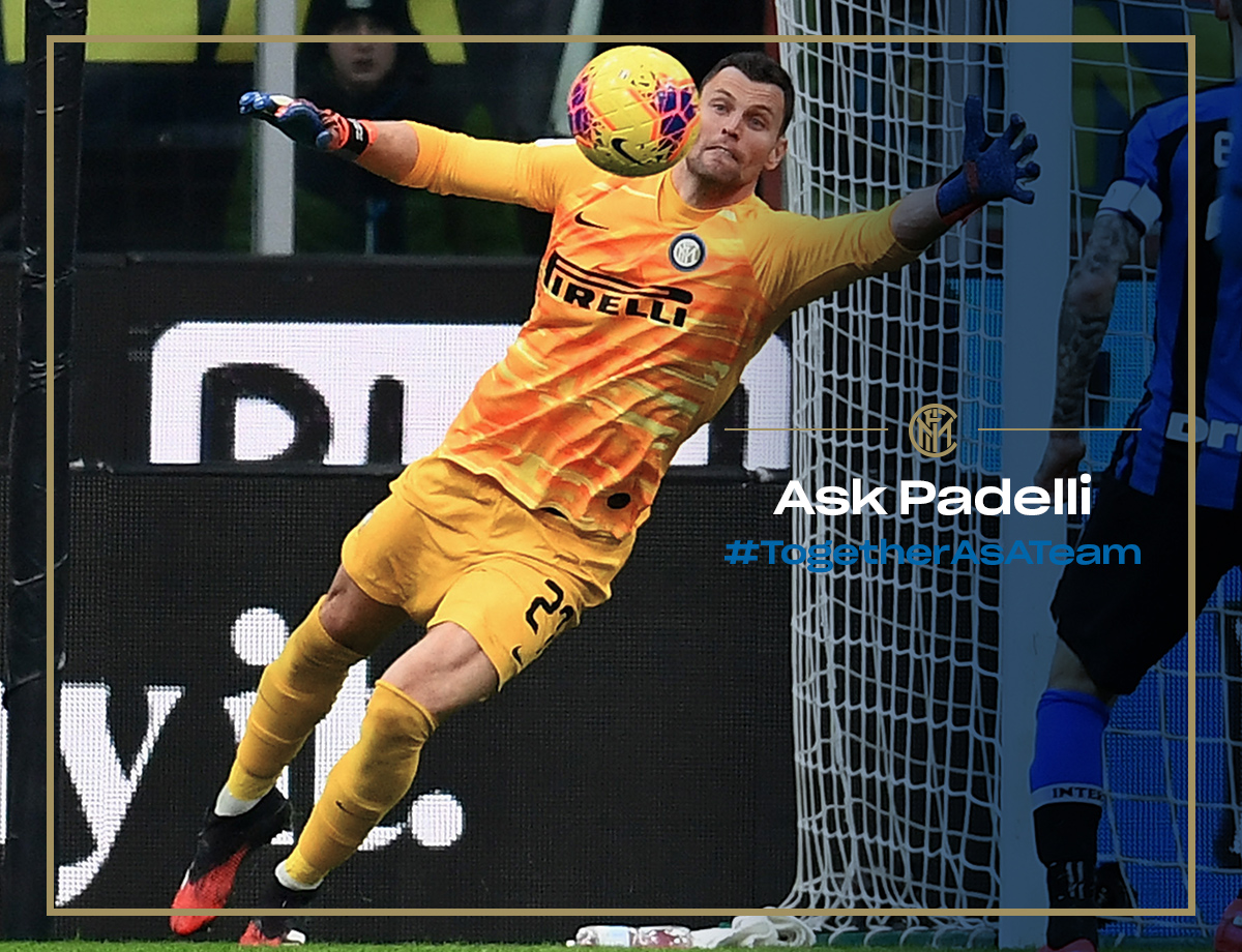 Ask Padelli! Your questions for the Nerazzurri goalkeeper